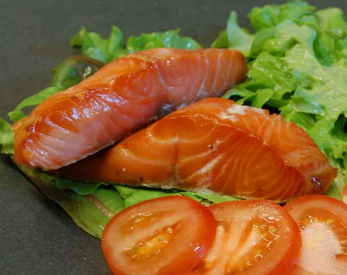 Hot smoked honey roasted salmon fillets pack of two for Honey smoked fish