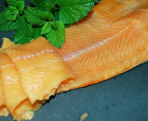 Cold Smoked Trout