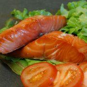 Hot Smoked Honey Roasted Salmon Fillets