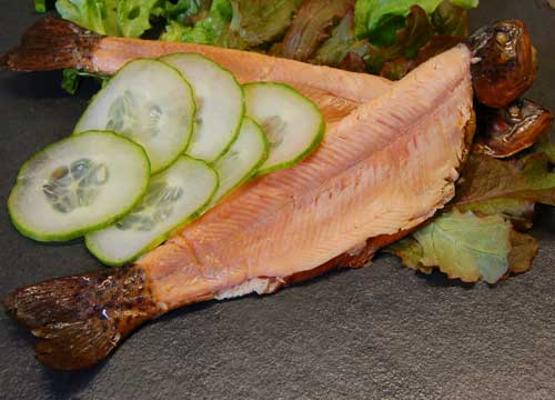 Whole Smoked Trout